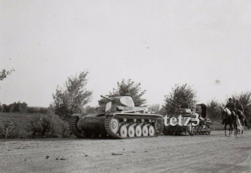 Polen 1939 b.Tomaszów Lubelski Deutsche Panzer Tank Sdkfz Kette.jpg