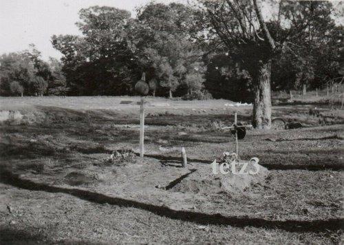 Polen 1939 b. Jaroslau Deutsches Heldengrab Grab Gräber.jpg