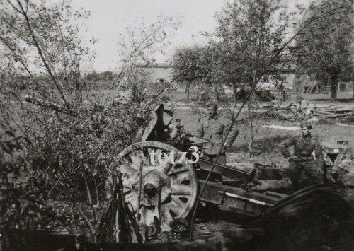 Polen 1939 v.Krakau Geschütz Kanone Tarn Camo Pak Artillerie.jpg