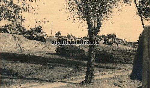 Panzer I und Panzer II Tank der 10.PD am NAREW Polen 1939.jpg