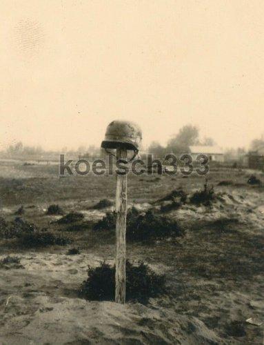 Landser Grab in Polen 1939 Wehrmacht Kämpfe Warta Widawka Jezow Bzura Kutno.jpg