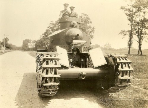 Experimental Tank on Road.jpg