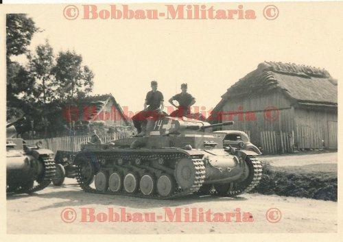 Panzerkampfwagen II Ausf.F weiße Turmnummer 14 Front Vormarsch 1939.jpg