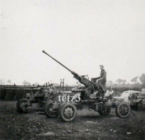Polen 1939 b. Tarnow Geschütz Kanone Pak Flak Beute.jpg
