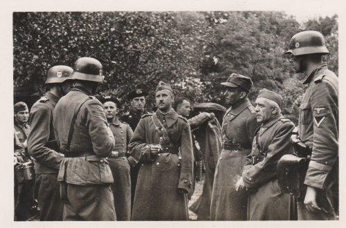 Polenfeldzug,gefangener polnischer Oberst,Offiziere.jpg