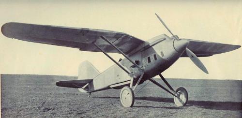 PZL P-8-II 1932 r. drugi prototyp Lorraine-Dietrich 12H Petrel.png