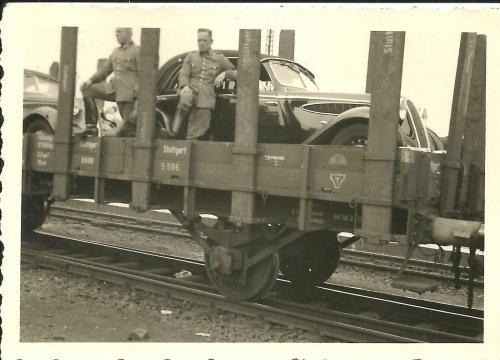 Mot Gendarmerie Bahnentladung Deutschhof - Poln Grenze 31.Aug 39 Polen.jpg