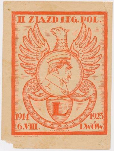 II Zjazd Legionistów Polskich, Lwów 6.VIII 1914-1923.jpg