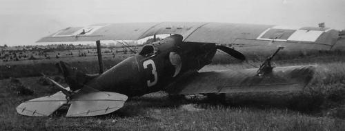 SPAD 61C1 nr. bocz. 3  - 09.08.1927 r. pod Staropolem manewry por.pil. Jan Koxmiński.png