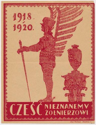 Cześć Nieznanemu Żołnierzowi 1918-1920.jpg