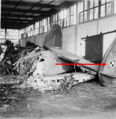 Polnisches Flugzeug Potez 630 in Le Bourget, Frankreich 1940.jpg