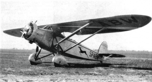 Lublin R-Xa bis Srebrny Ptak SP-ABW.png