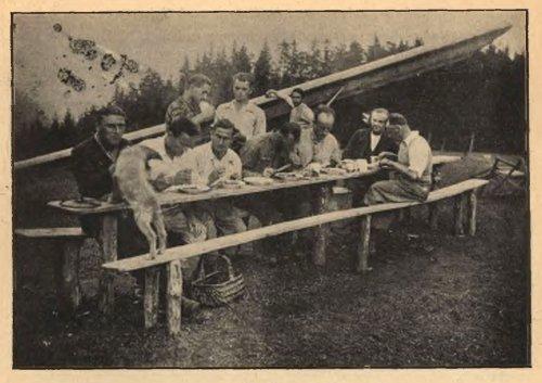 Aeroklub-Śląski-Goleszów, obiad.jpg