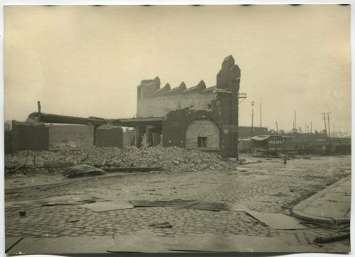 RUIN AT BERLIN BAHNHOF RAILWAY STATION AREA, MAY 1945.jpg