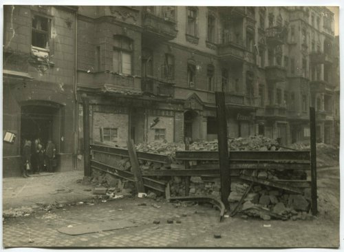ANTI-TANK FORTIFICATION ON BERLIN STREET, MAY 1945.jpg