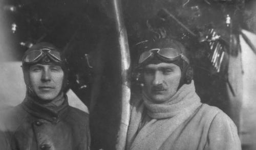mjr pil. Stanisław Karpinski i inż. Suchodolski Rzym 1931 r..png