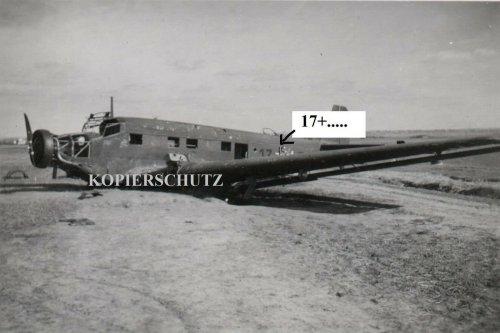 Polen 1939 b. Krakau Deutsches Flugzeug Plane Junkers Ju52_0.jpg