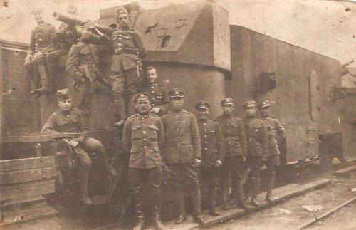 Polski pociąg pancerny Groźny i jego załoga - Wyprawa Kijowska 1920 r..jpg