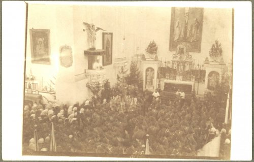 Bobrujsk. Msza św. dla ludności cywilnej oraz żołnierzy I Korpusu Polskiego w Rosji.jpg