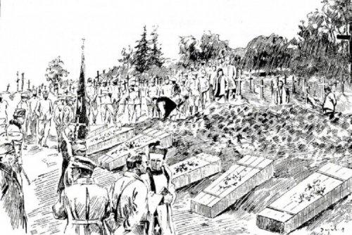 Pogrzeb_polskich_legionistów_poległych_w_walkach_pod_Rokitną,_rysunek_F._Zajchowskiego_01.jpg