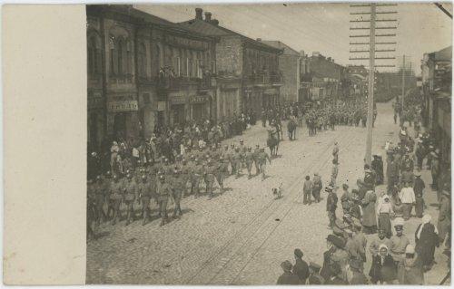 Bobrujsk. I Korpus Polski w Rosji. Uroczysta defilada wojskowa z okazji święta 3 Maja.jpg