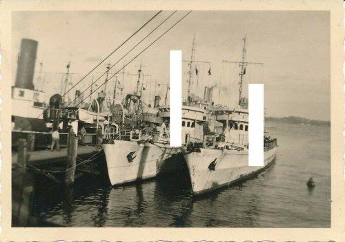 Beute polnische Minensucher Kriegsschiff Kriegsmarine OXHÖFT & WESTERPLATTE.jpg