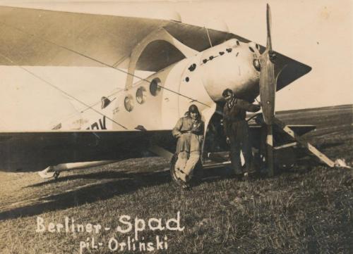 Berline-SPAD 46 CFRNA lata 20-te Lotnisko Mokotowskie.png