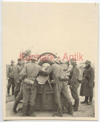 Wehrmacht Artillerie Abt.641 Polen Warschau Beute Skoda Mörser Kanone_0.jpg