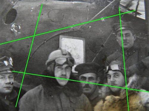 kpt.obs. Leon Raden i ppor.pil. Stefan Łuczak - Halberstadt C.V Bobrujsk 1920.jpg