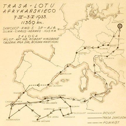 Mapa Rajdu Afrykańskiego 1933.jpg