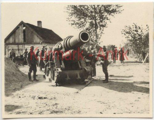 Wehrmacht Artillerie Abt.641 Polen Warschau Beute Skoda Mörser Kanone_1.jpg