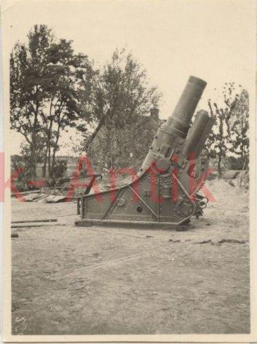 Wehrmacht Artillerie Abt.641 Polen Warschau Beute Skoda Mörser combat.jpg