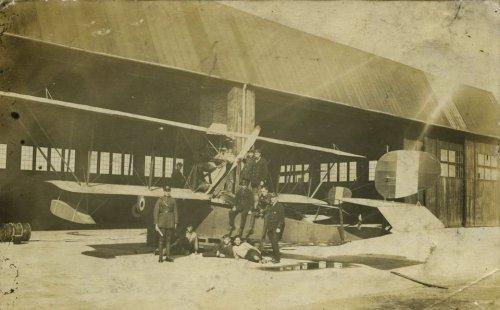 Montaż wodnosamolotów FBA S-4, 1923 r.jpg