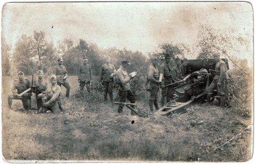 Rok 1927. Ostre strzelanie I. baterii 7. Pułku Artylerii Ciężkiej na poligonie w Biedrusku.jpg