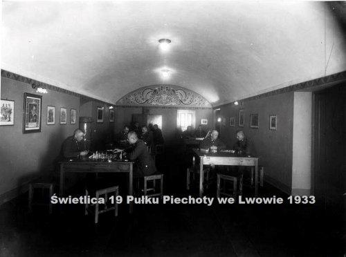 Świetlica 19 Pułku Piechoty we Lwowie 1933.jpg
