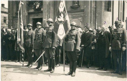 Wręczenie sztandaru 12 Pułku Piechoty w Wadowicach.jpg
