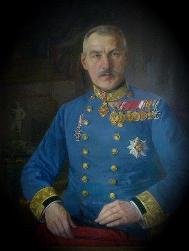 Generał Bronisław Majewski. Pardubice rok 1917.jpg