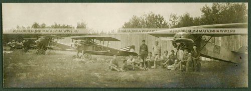 Fokker E.V i SPAD VII, 2.Istraviotriad.jpg