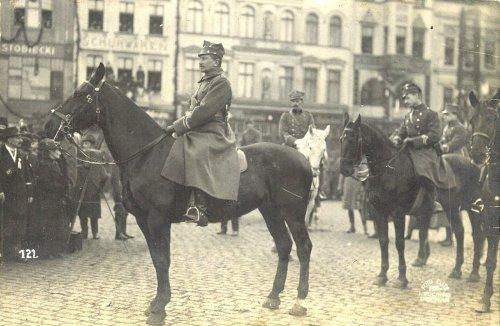 Bydgoszcz - 22.01.1920 roku  przybył genrał Józef Dowbor Muśnicki..jpg