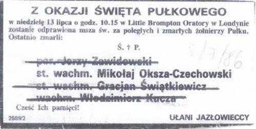 u Oksza Czechowski.JPG