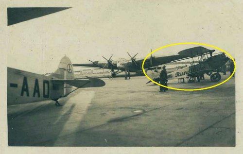Danzig-Langfuhr. SP-AAO Fokker F-VII-1m,  Ju G-38.jpg