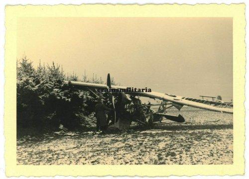 Flugzeug Wrack in Polen Russland Frankreich..jpg