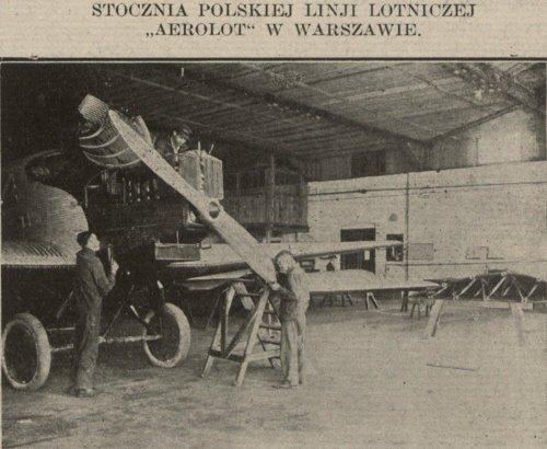 1927 , Hangar Aerolot. Przegląd Komunikacyjny. maj 1927.jpg